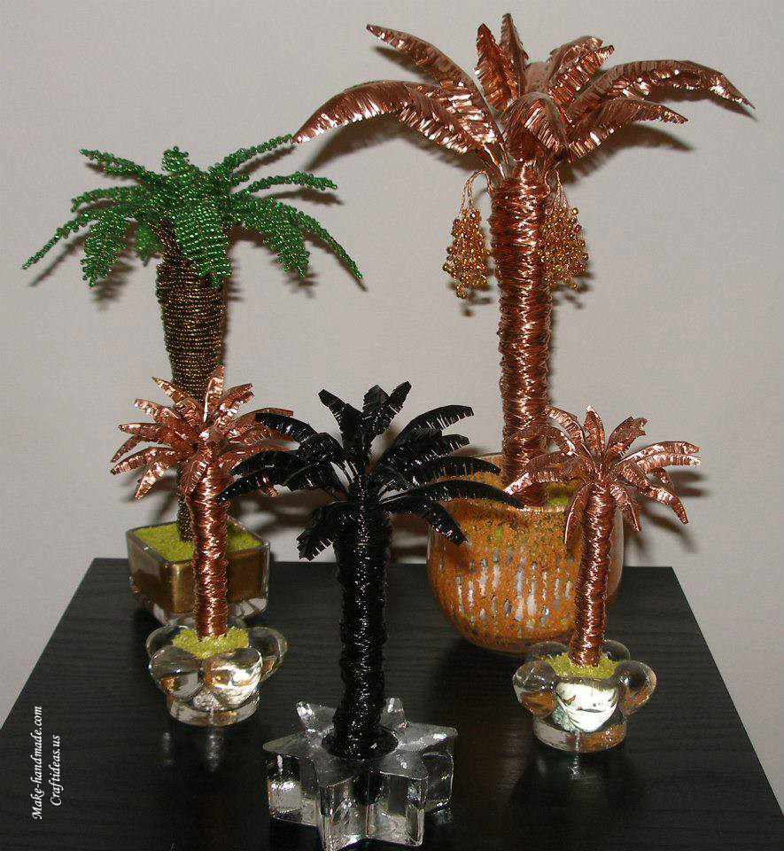 beading coconut tree ideas