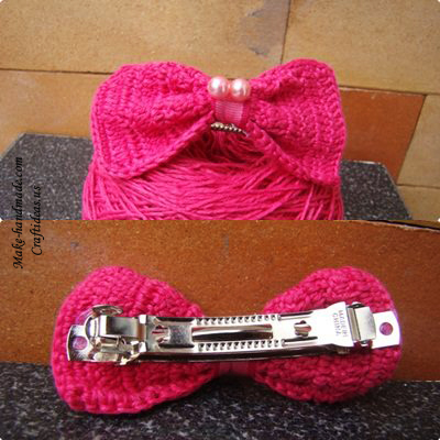 crochet bow ideas
