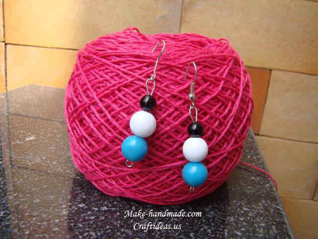 cute bead earrings