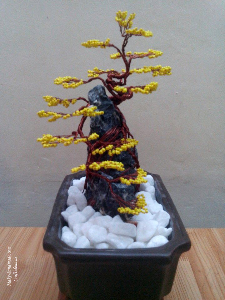 handmade tree of bead
