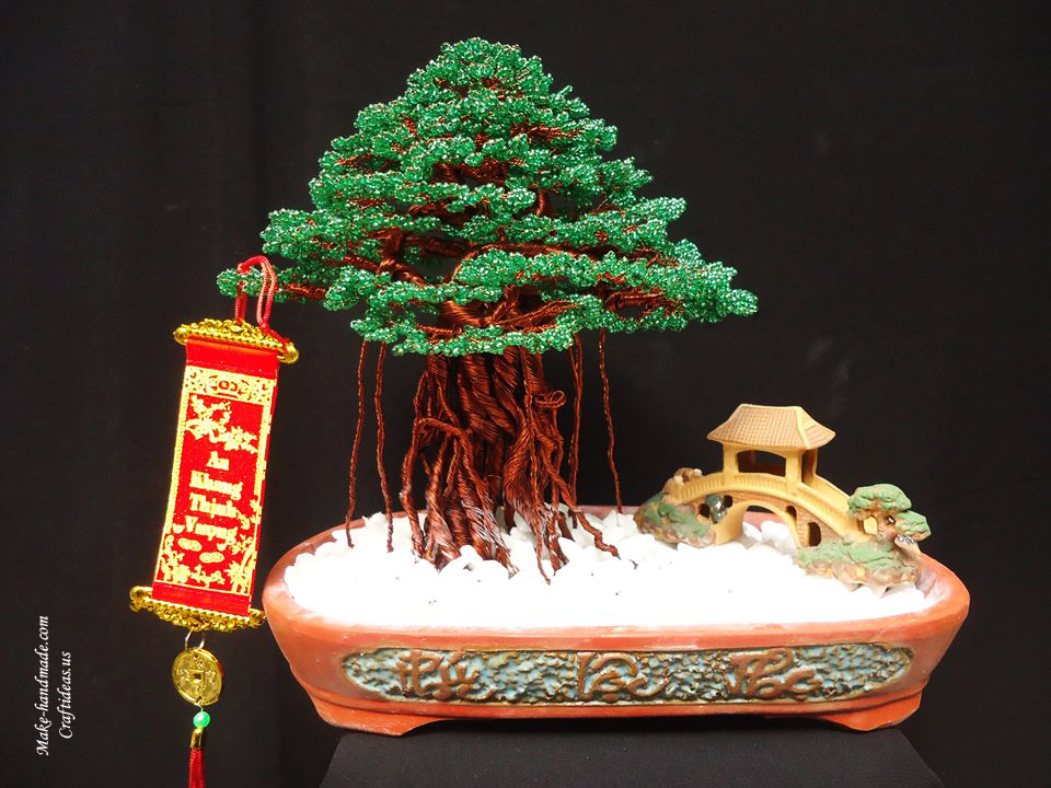 huge bead bonsai ideas