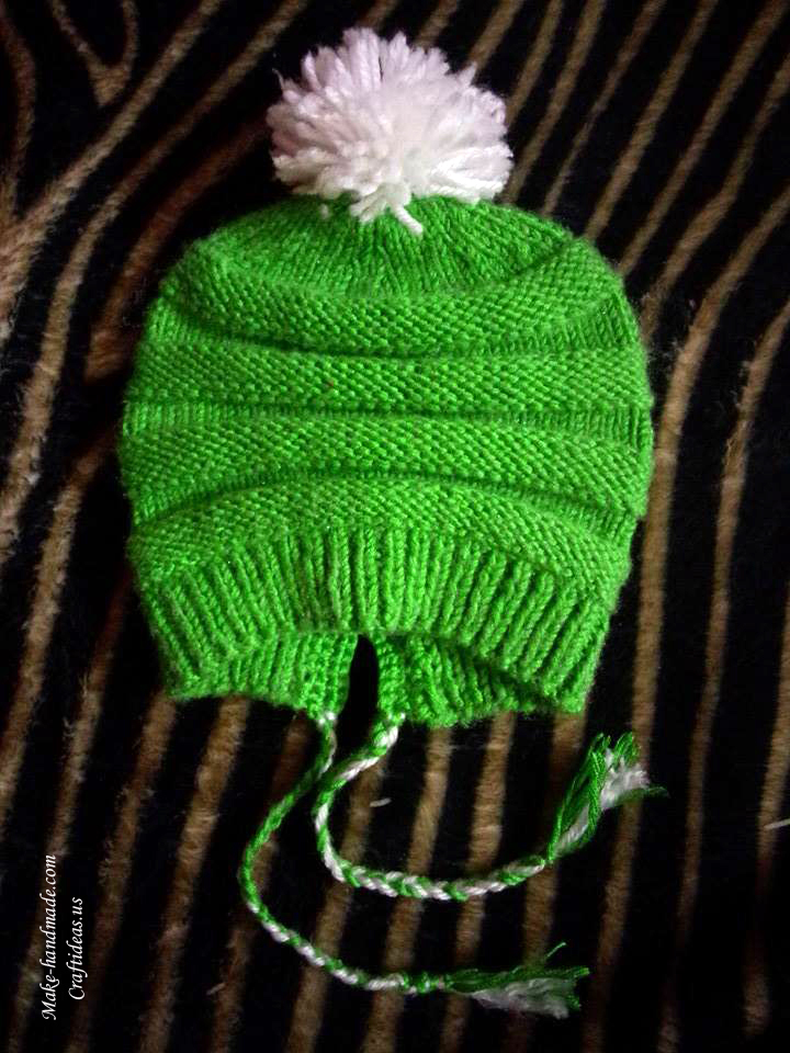 knitting easy and beauty baby hat