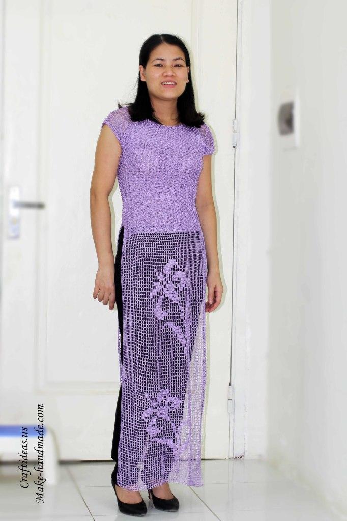 Crochet Beauty Vietnam dress ideas for women