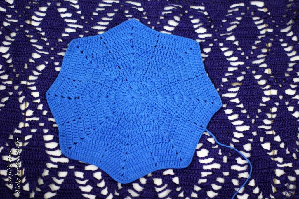 Crochet beret for all