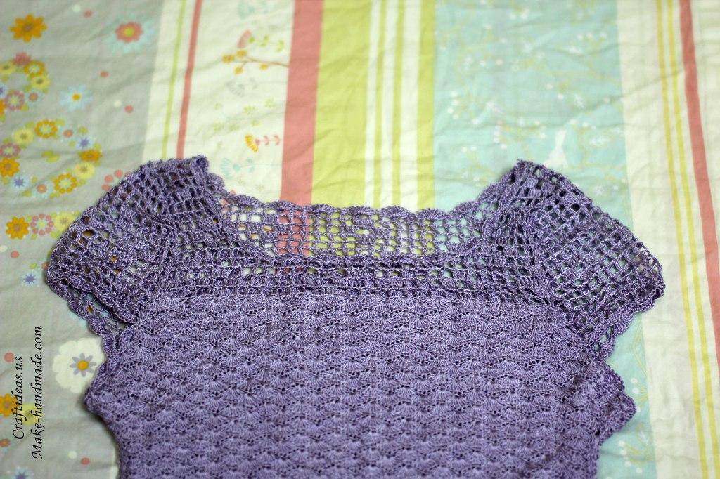Crochet women dress