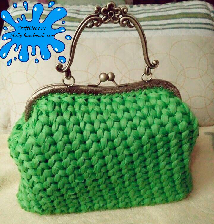 Crochet Purse Ideas : Crochet cute purse and handbag, crochet ideas