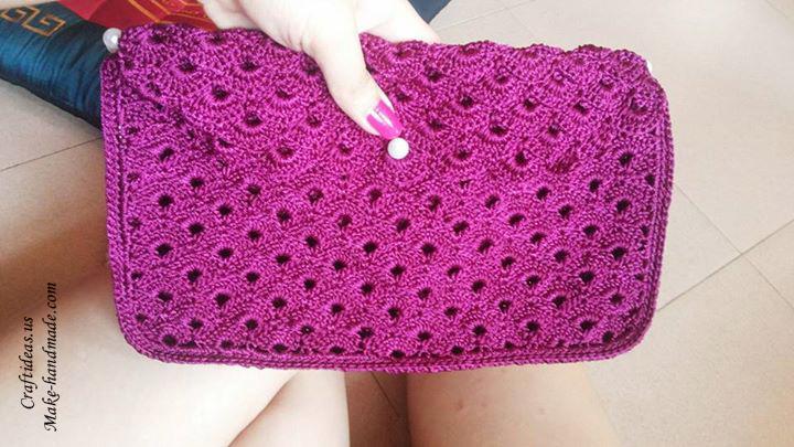 Crochet purse for women craft ideas for Craft ideas for women