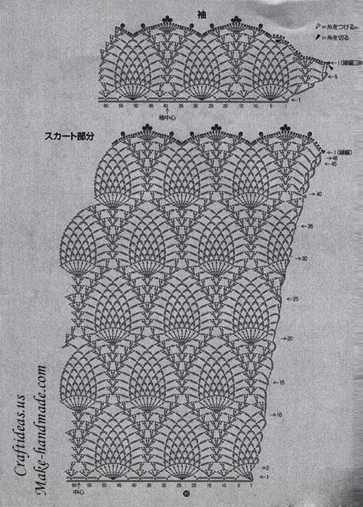 Pineapple Crochet Lace Diagrams Wiring Library