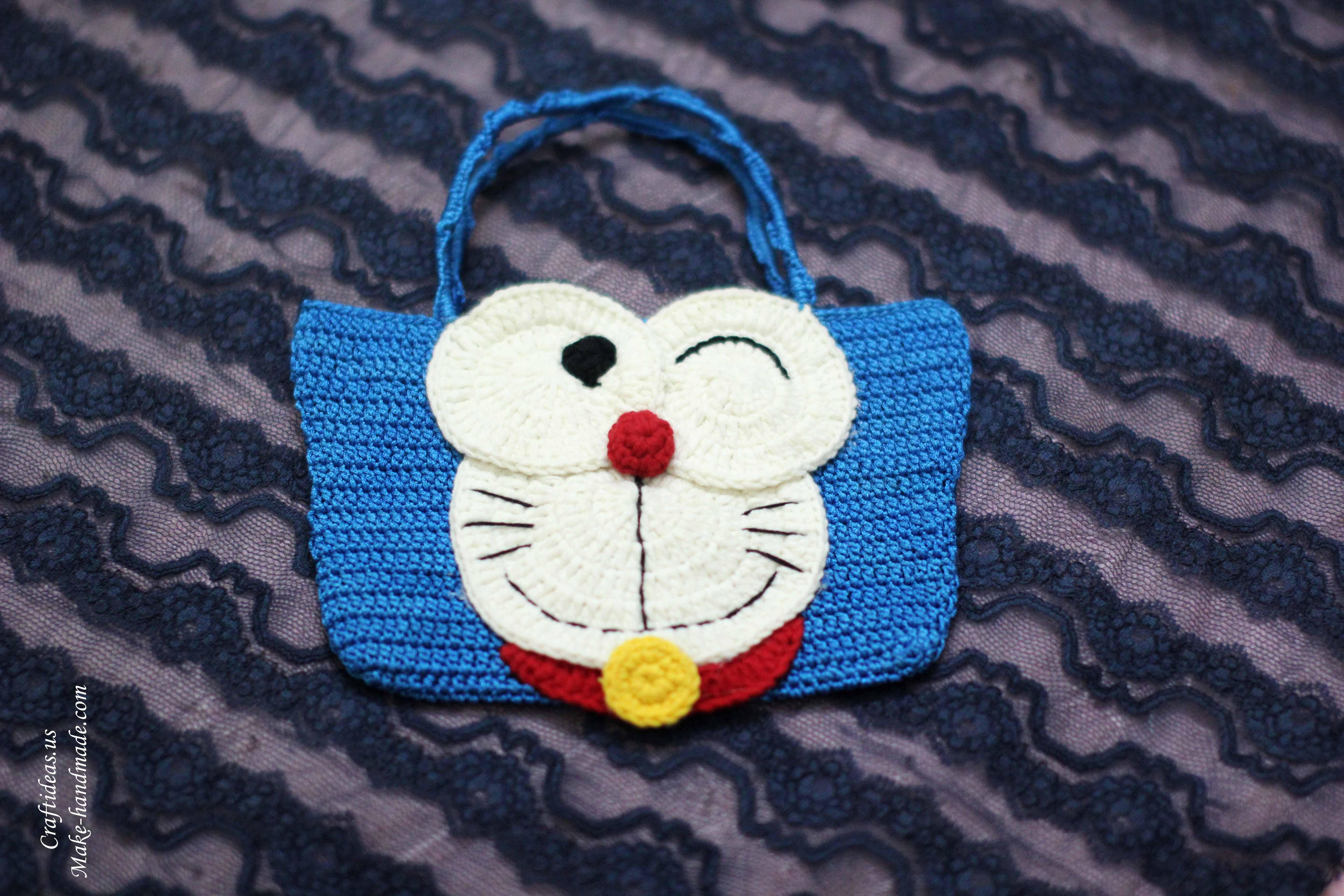 My Creation » Amigurumi » Doraemon • www.crochetsanctuary.com | 3456x5184