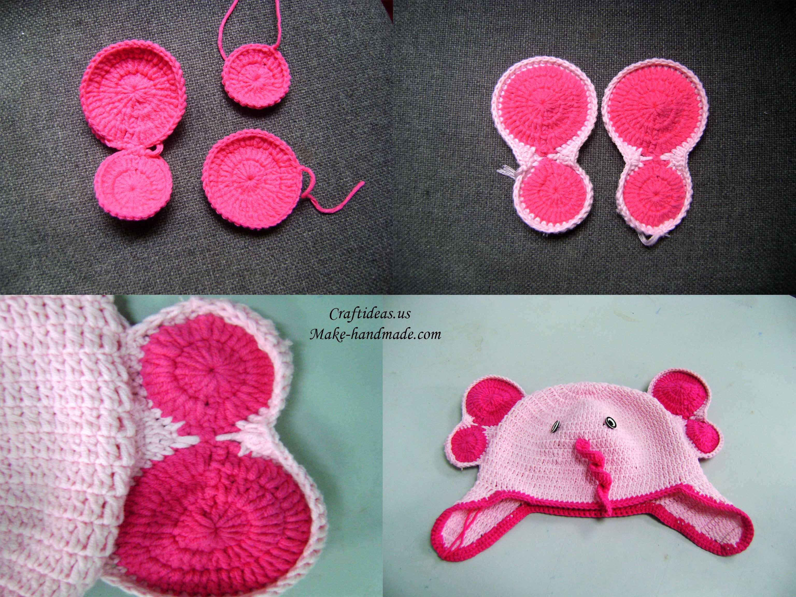 Alabama Elephant Hat Crimson Tide Crochet Elephant Hat Baby | Etsy | 2304x3072