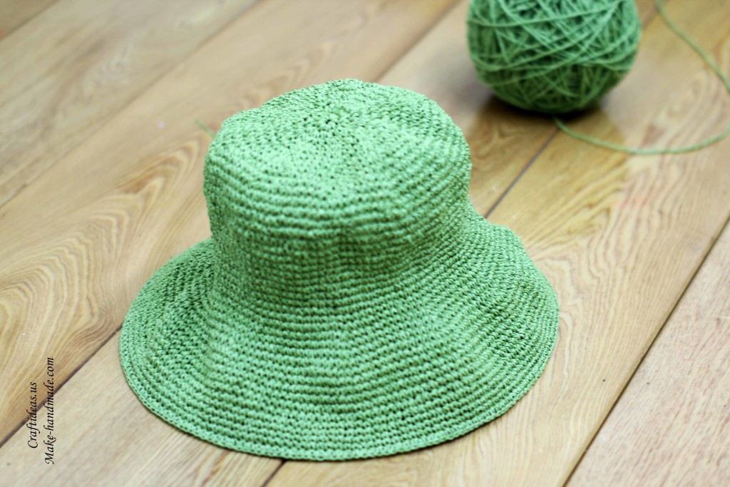 Crocheting Single Stitch : Crochet summer hat of single crochet stiches, crochet chart