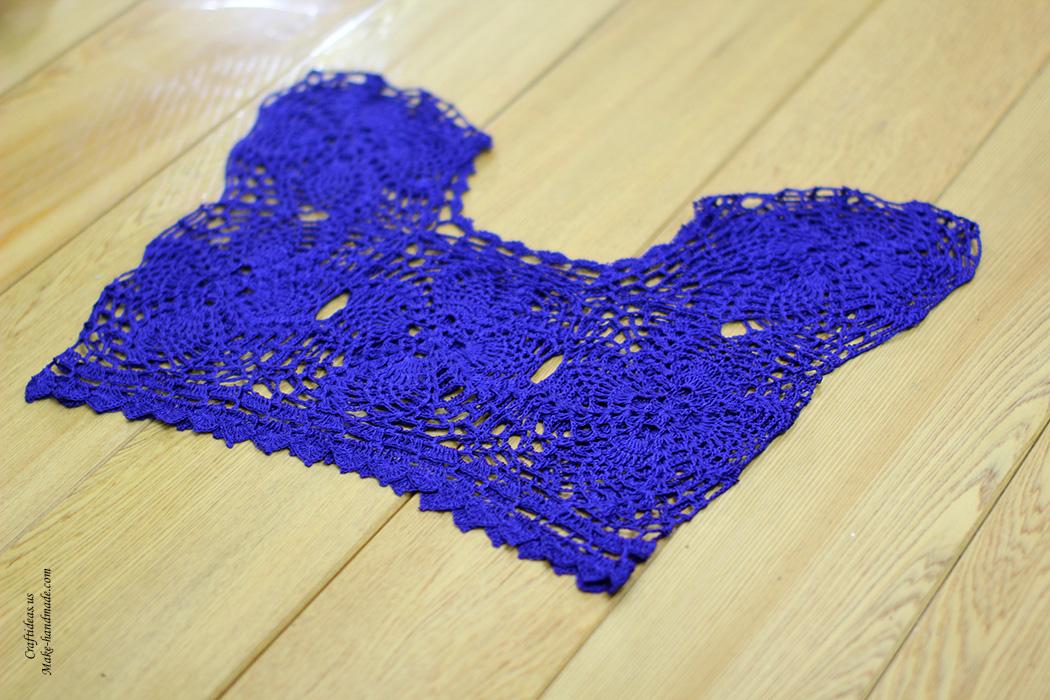 Crochet crop top coban