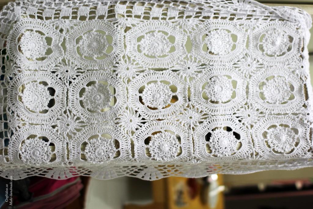 Crochet cute doily