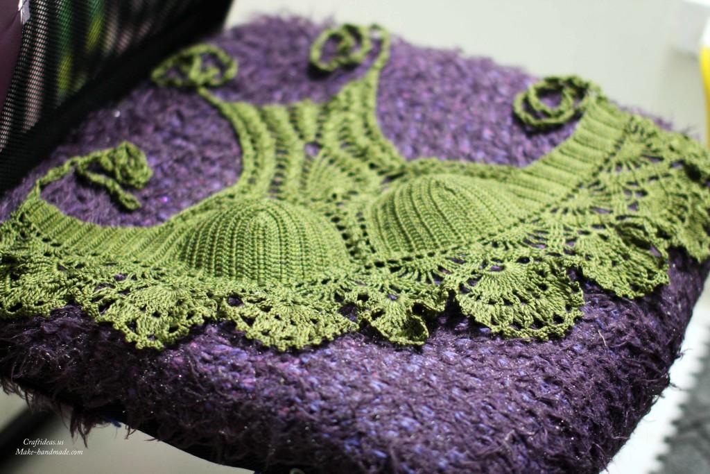 Crochet summer fashion for beach