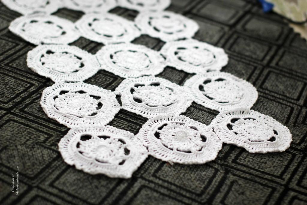 Crochet white doily ideas