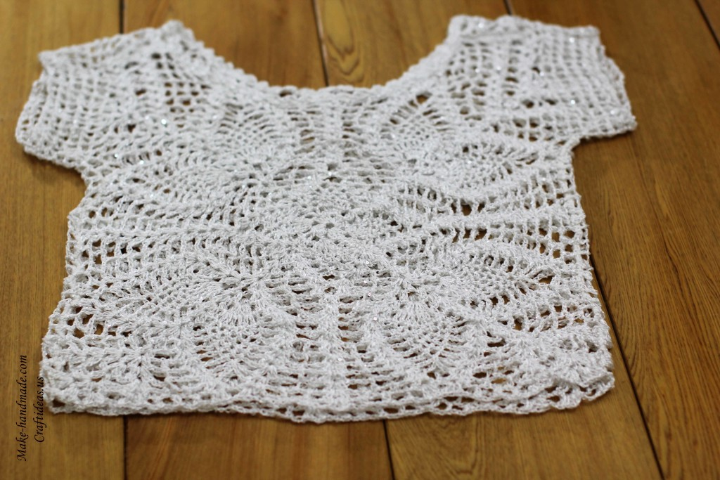 Crochet top for summer