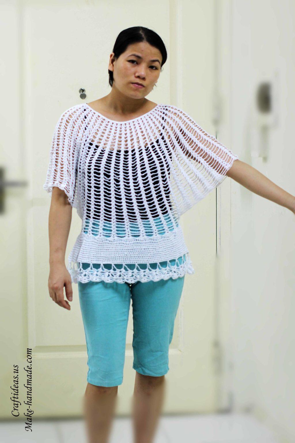 crochet-cute-tunic-dress-for-beacht