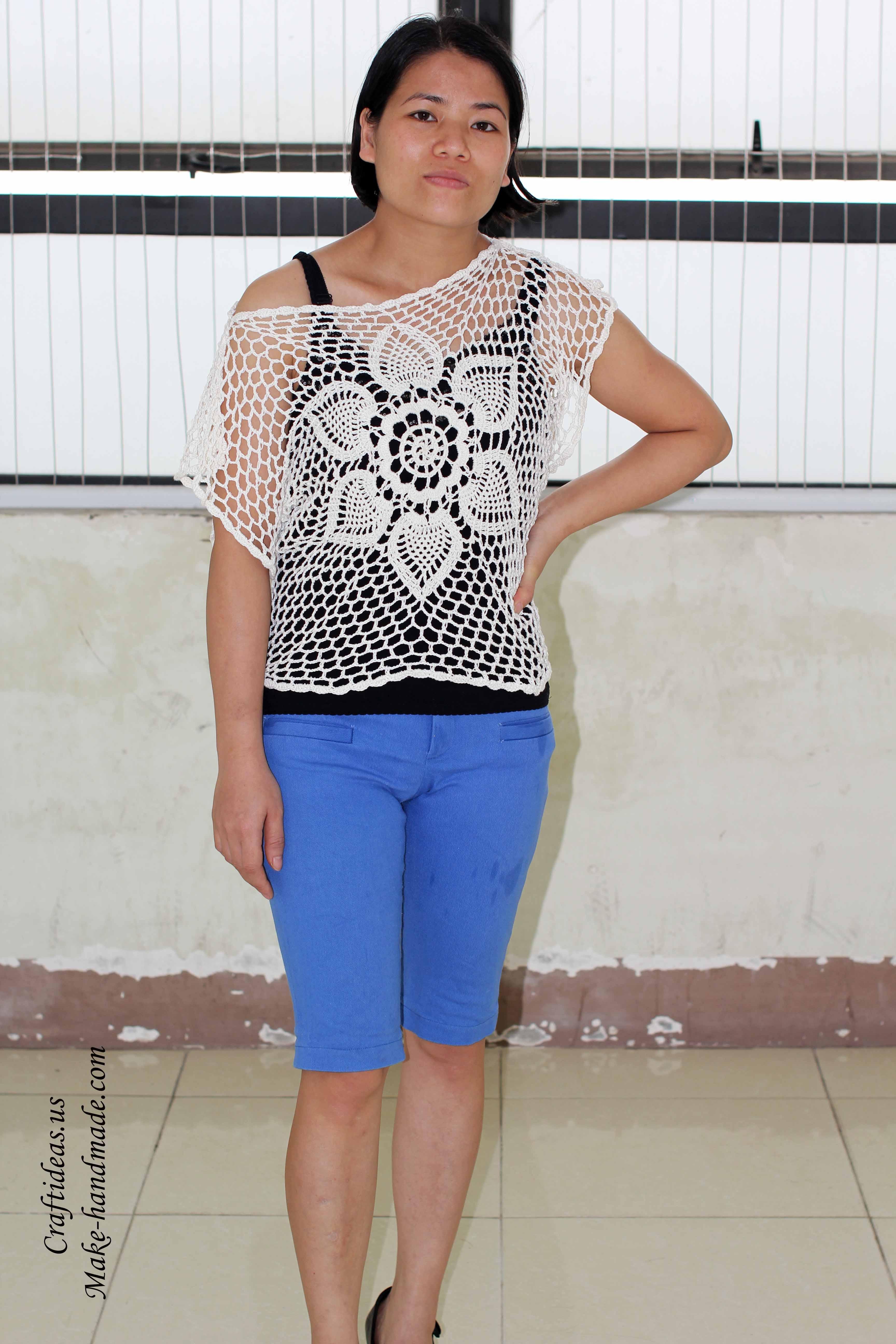 Crochet summer croptop ideas - Craft Ideas