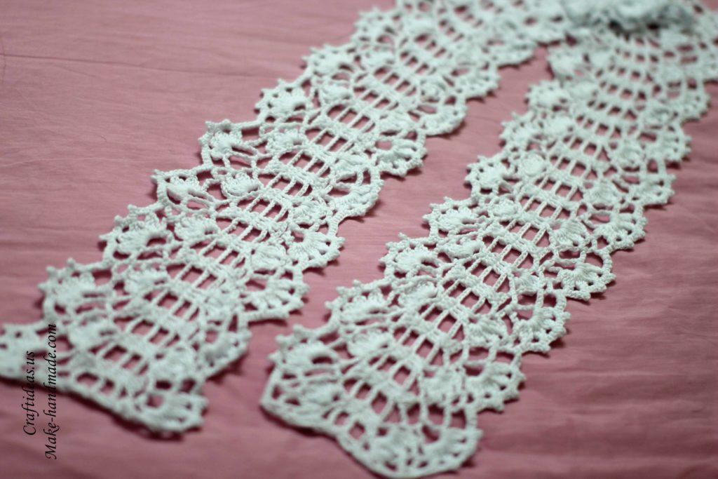 Crochet Craft Projects : Crochet women lace scarf, crochet chart