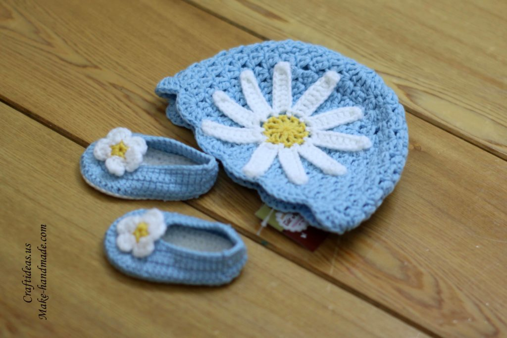 crochet-baby-set-hat-and-booties