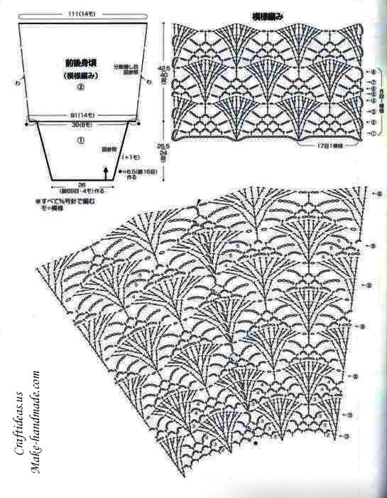 crochet-cute-women-cardigan-chart