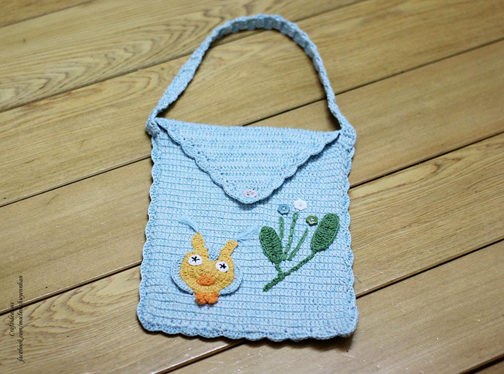 Crochet bag idea
