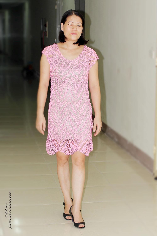 Crochet beauty women dress