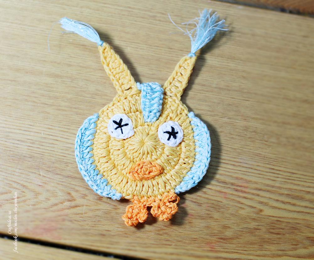 Crochet cute owl idea