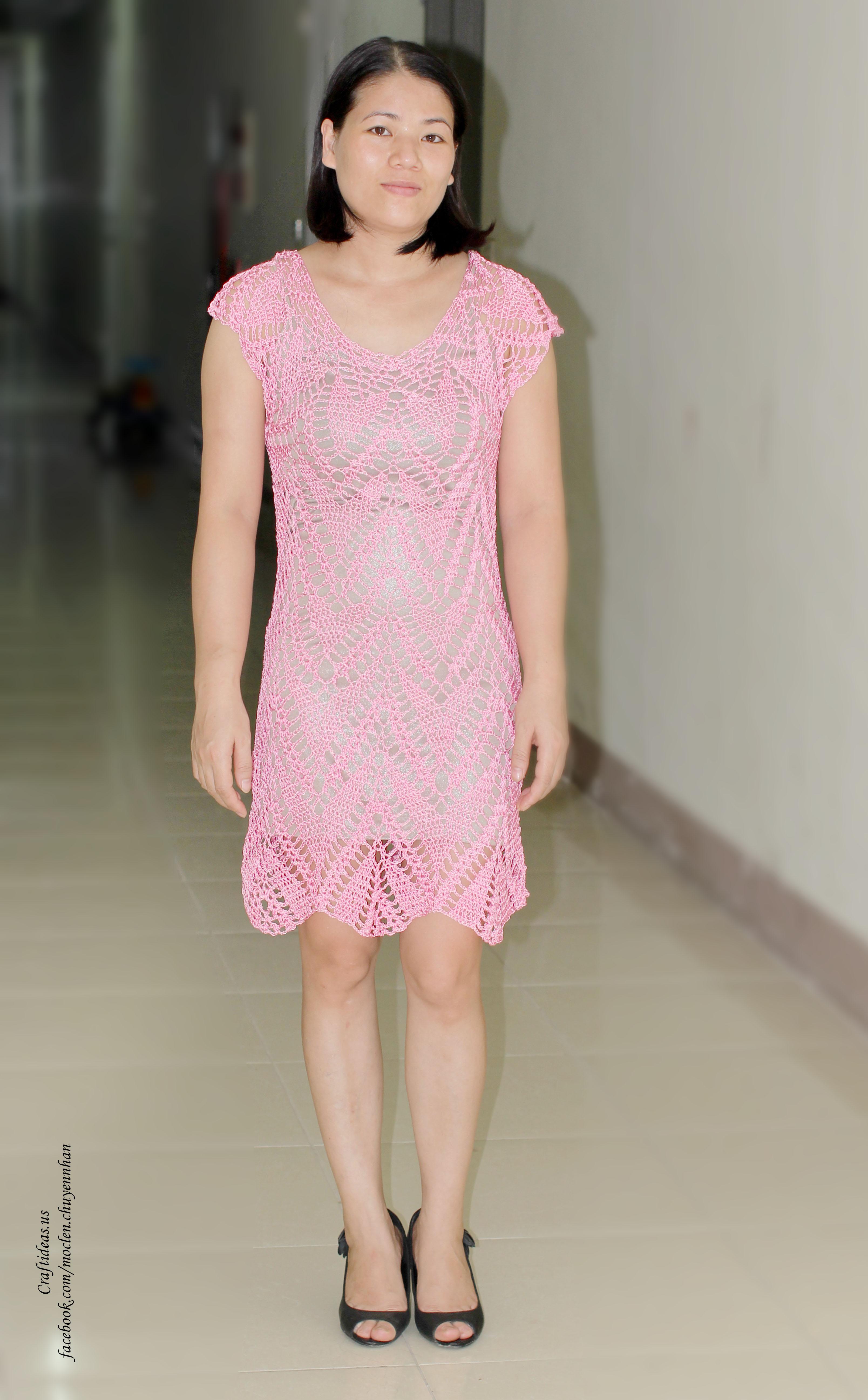 Crochet dress for women