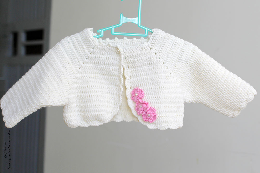 Crochet Sweater For Girl
