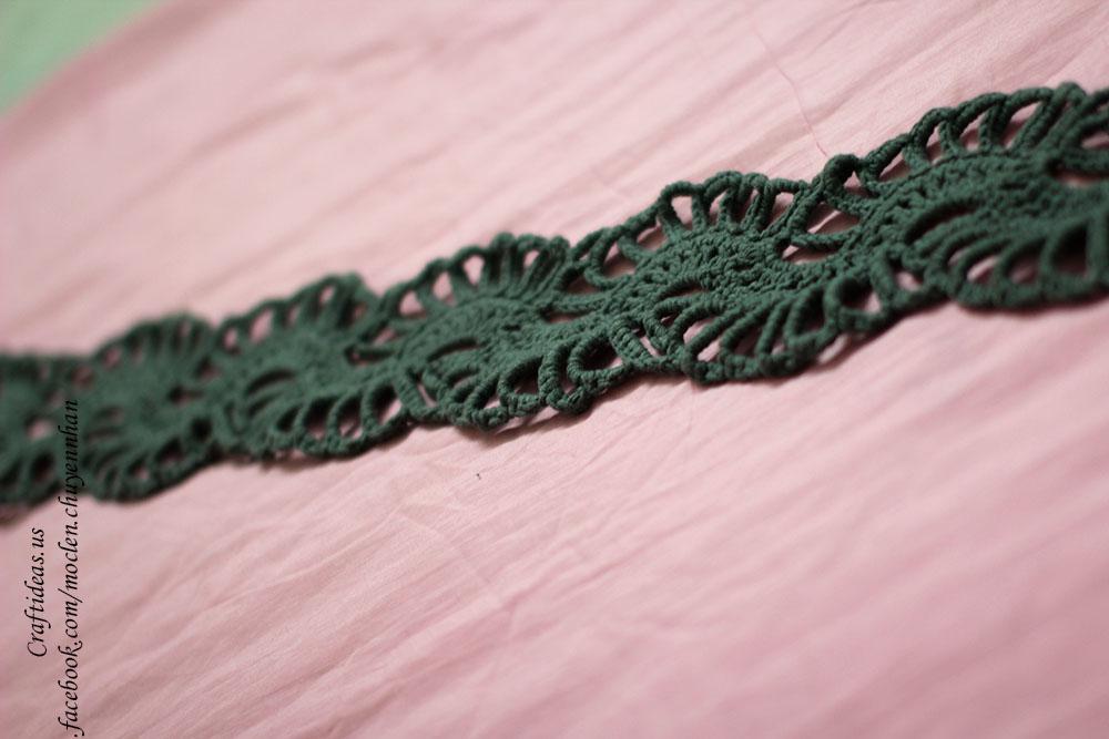 Crochet easy scarf