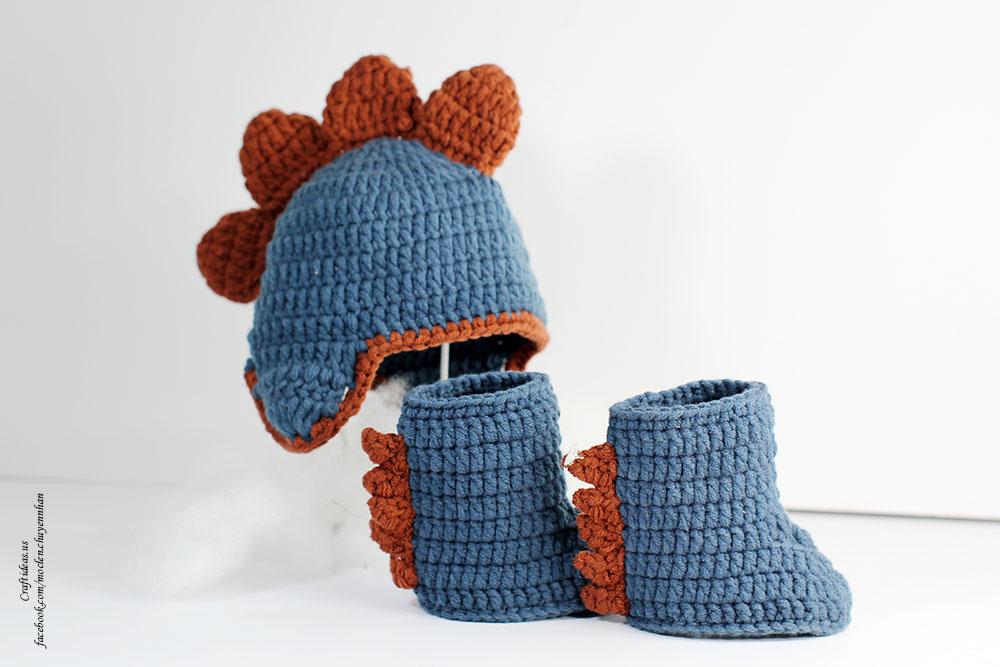 Crochet little monster set for little kids