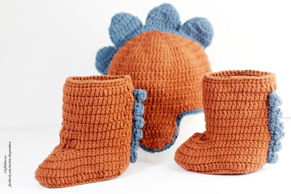 Crochet monster set for hallowen