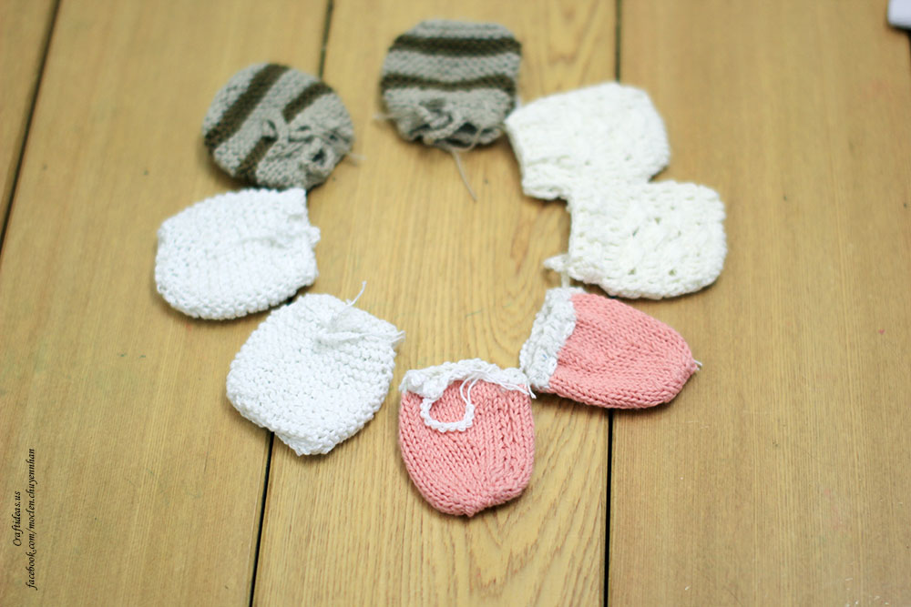 mittens crochet and knitting ideas