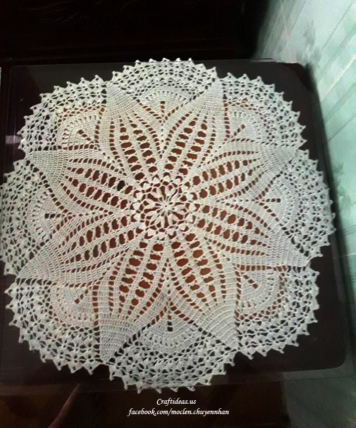 Crochet Doily Craft Ideas