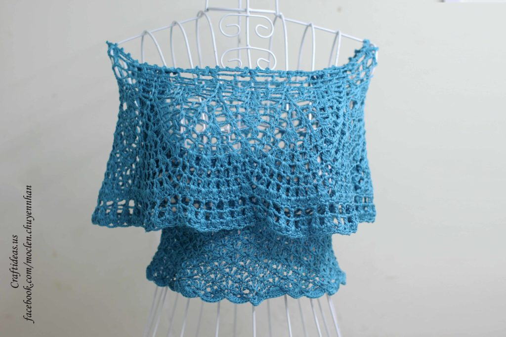 Crochet beauty summer croptop