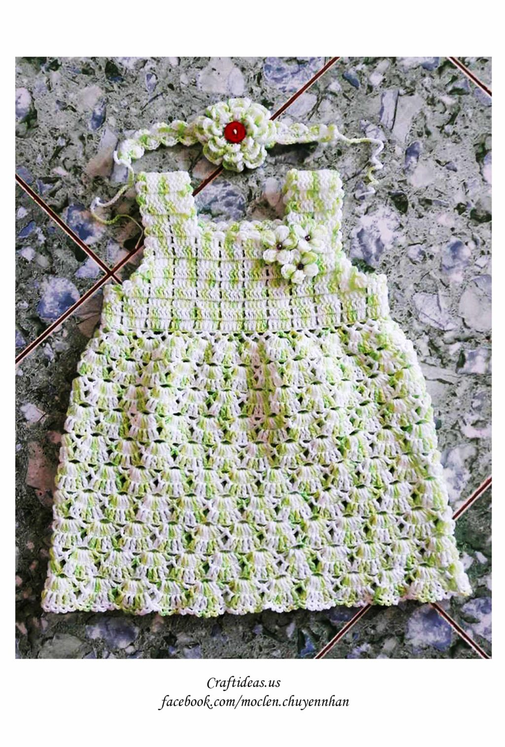 Crochet cute baby dress ideas