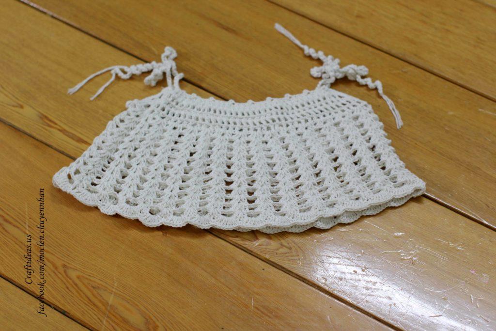 Crochet easy croptop