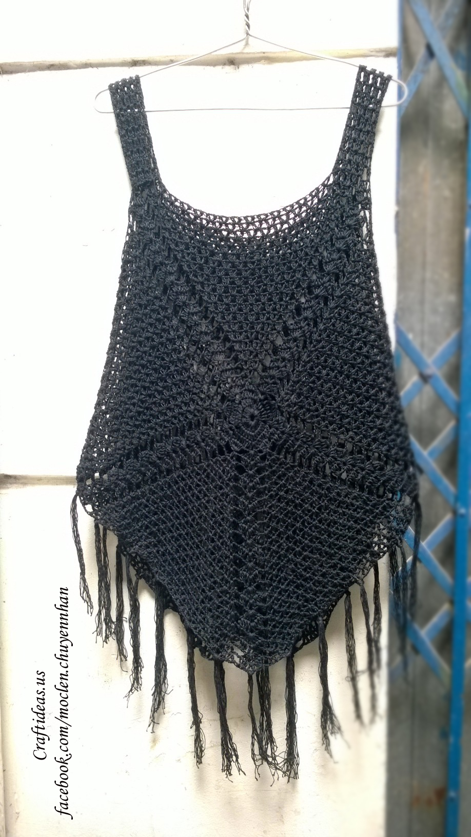 Crochet summer croptop