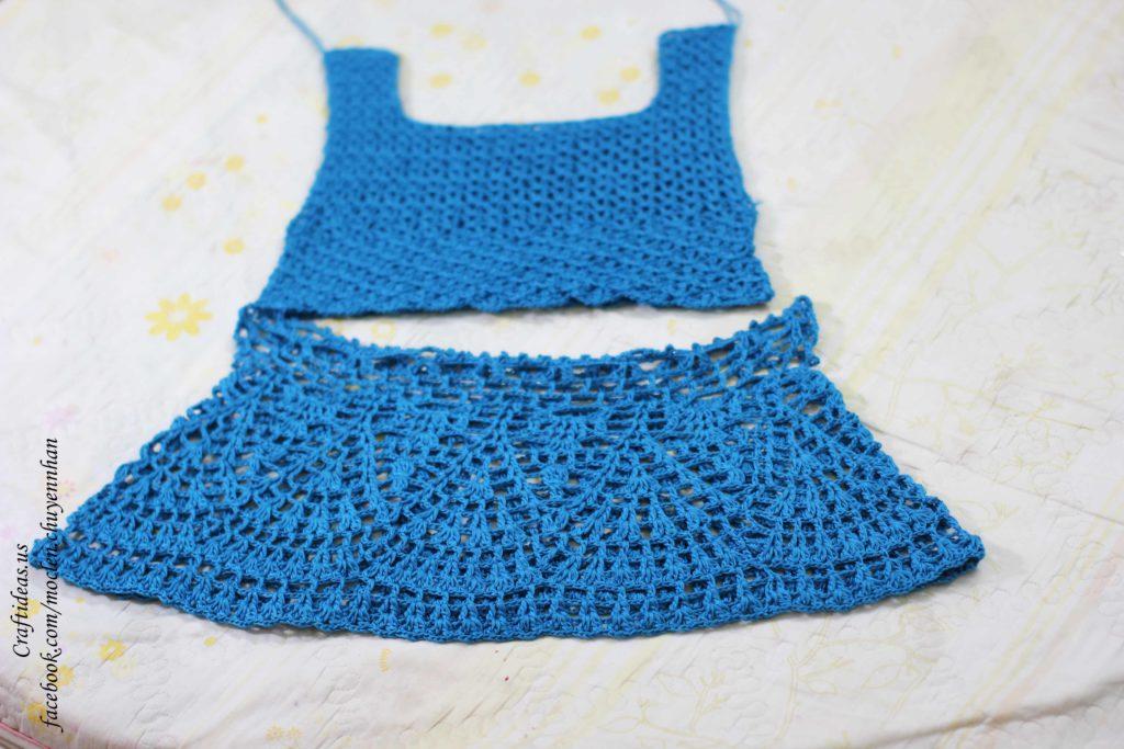 Crochet summer crotop ideas for women