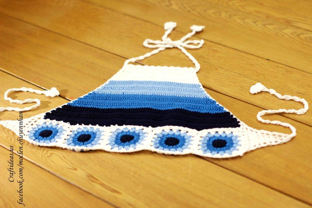 Crochet croptop for beach