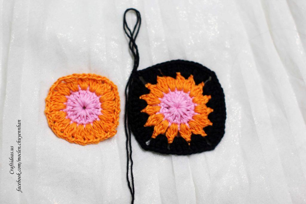 Crochet cute bikini for beach