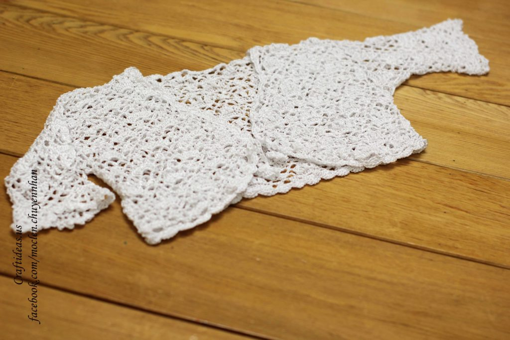Crochet lace vest ideas