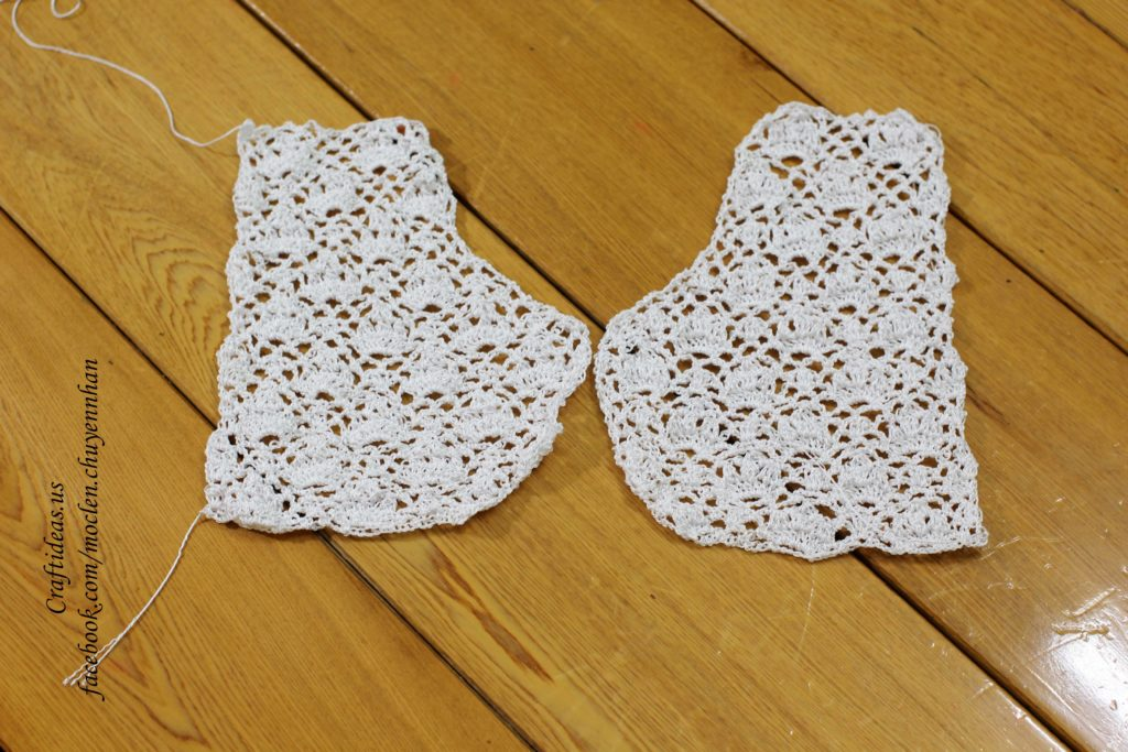 Crochet vest photo tutorial