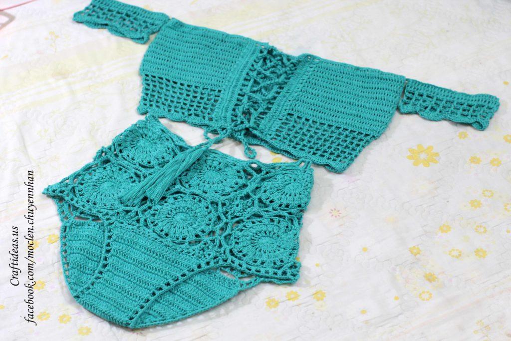 Crochet women fashion for beach