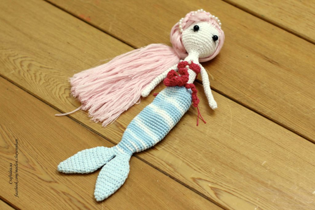 Crochet amirugumi little mermaid ideas