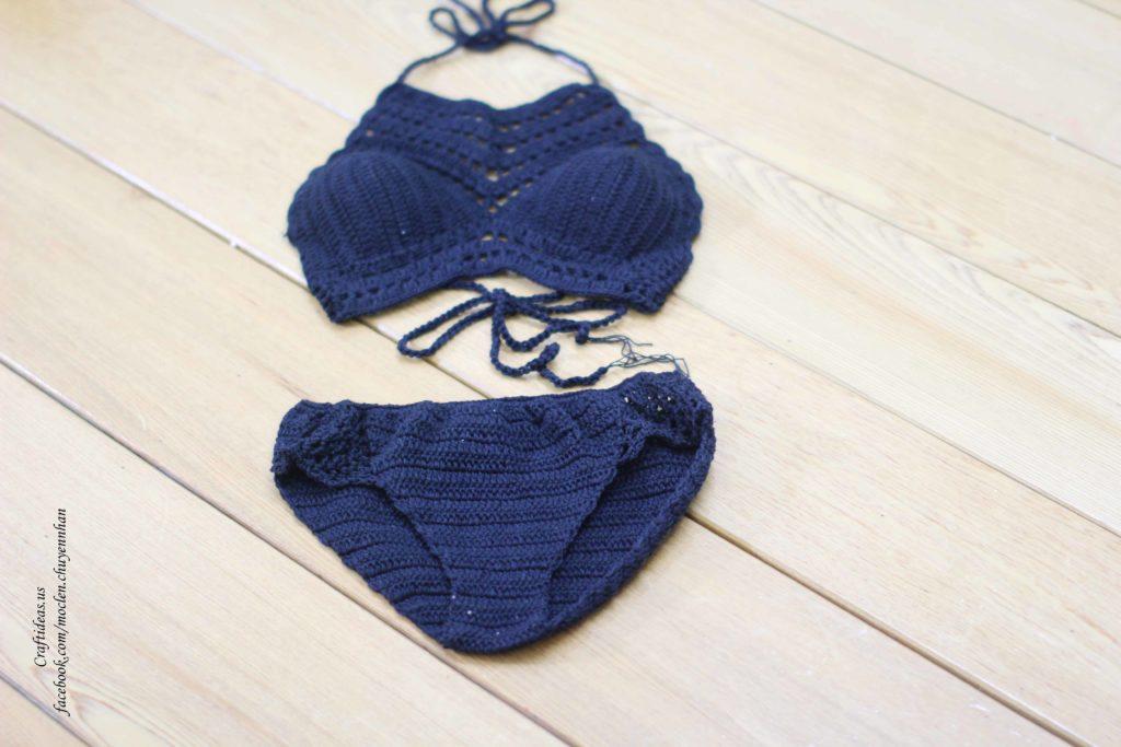 Crochet bikini for summer