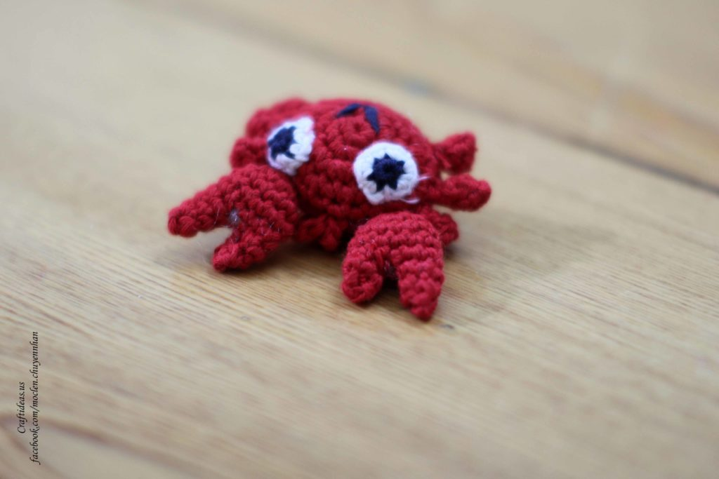 Crochet ideas crab for kids