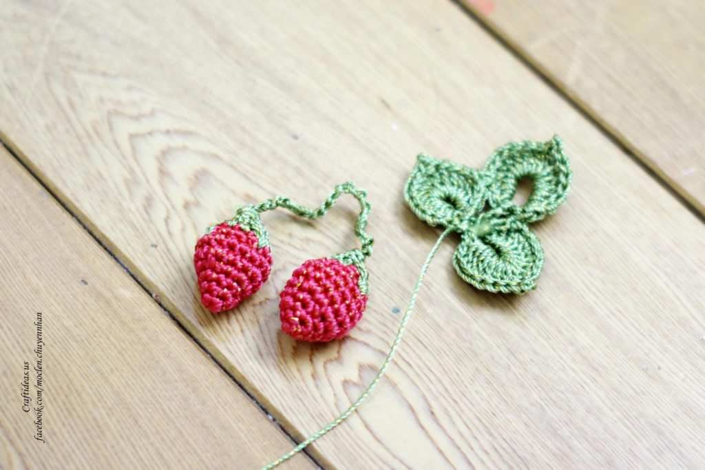 Crochet strawberry ideas