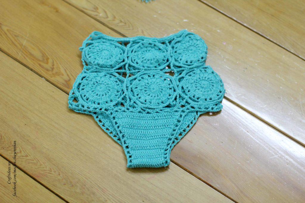 Crochet underwear